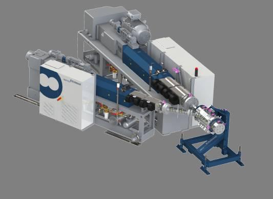 εξωθηση σωληνων extruder Rollepaal - PLASTIC-INDUSTRY.GR Multilayer lijn v4