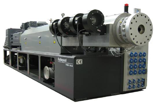 διπλοκόχλιο TWIN SCREW EXTRUDER PVC