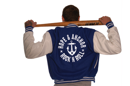 HOPE and ANCHOR Baseball Jacke