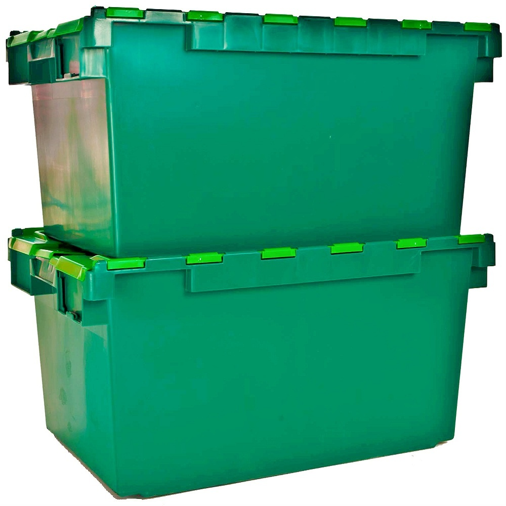 Good Plastic Storage Bins With Lids - pack-of-2-80-litre-heavy-duty-alc-plastic-storage-boxes-with-attached-lids-p49-88_image  Best Photo Reference_423465.jpg