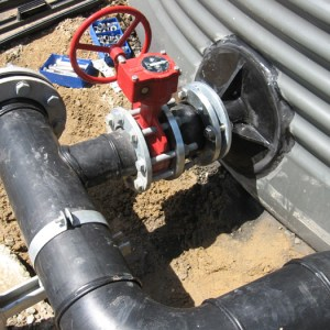 Installation of Flanged Tank Outlet