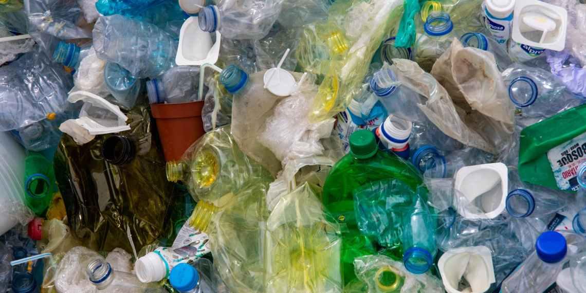 close up photo of plastic bottles