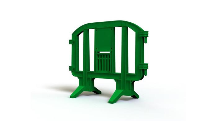 Green LineEx plastic barrier