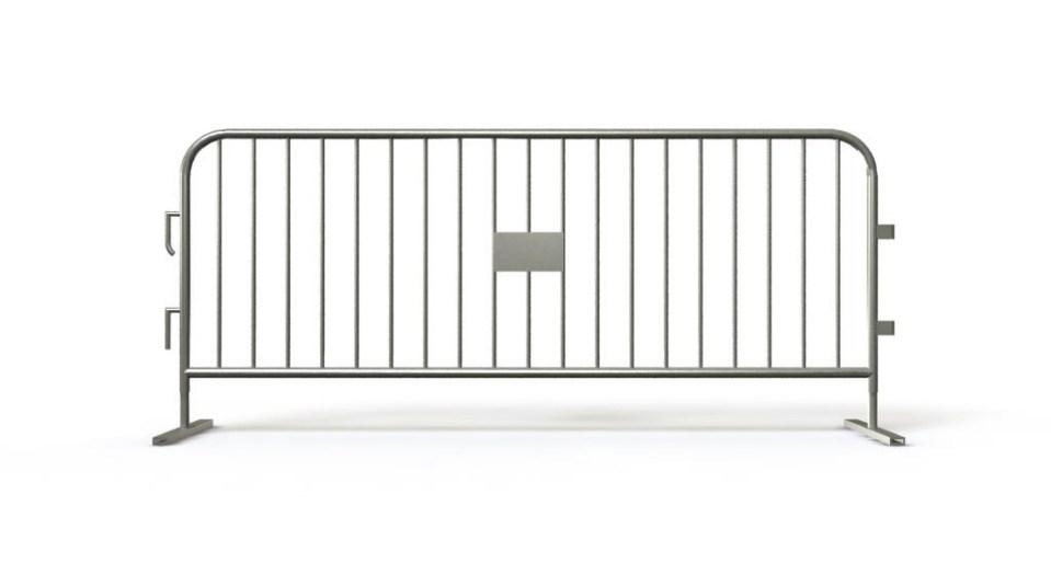 Steel barricade