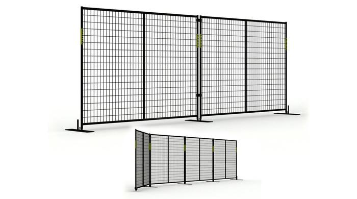 Temporary barrier