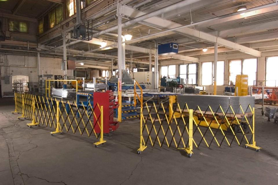 Barrier Gates for warehouses