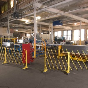 Barrier Gates for warehouses