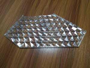 transparent plastic injection molding
