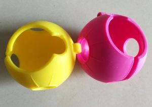 Silicone molding parts