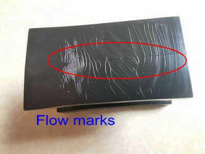 Flow marks