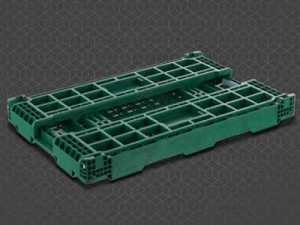 folding crate mold