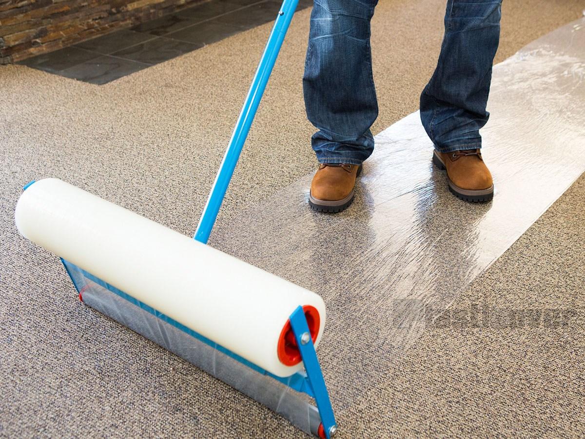 Carpet Protection Film | Sticky Carpet For Stairs | Self Adhesive | Mat | Sticky Bottom | Flooring | Anti Slip