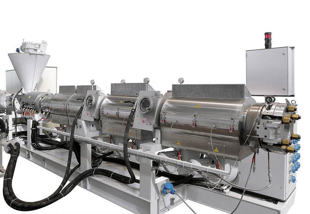 Pvc Pipe Extruder Machine