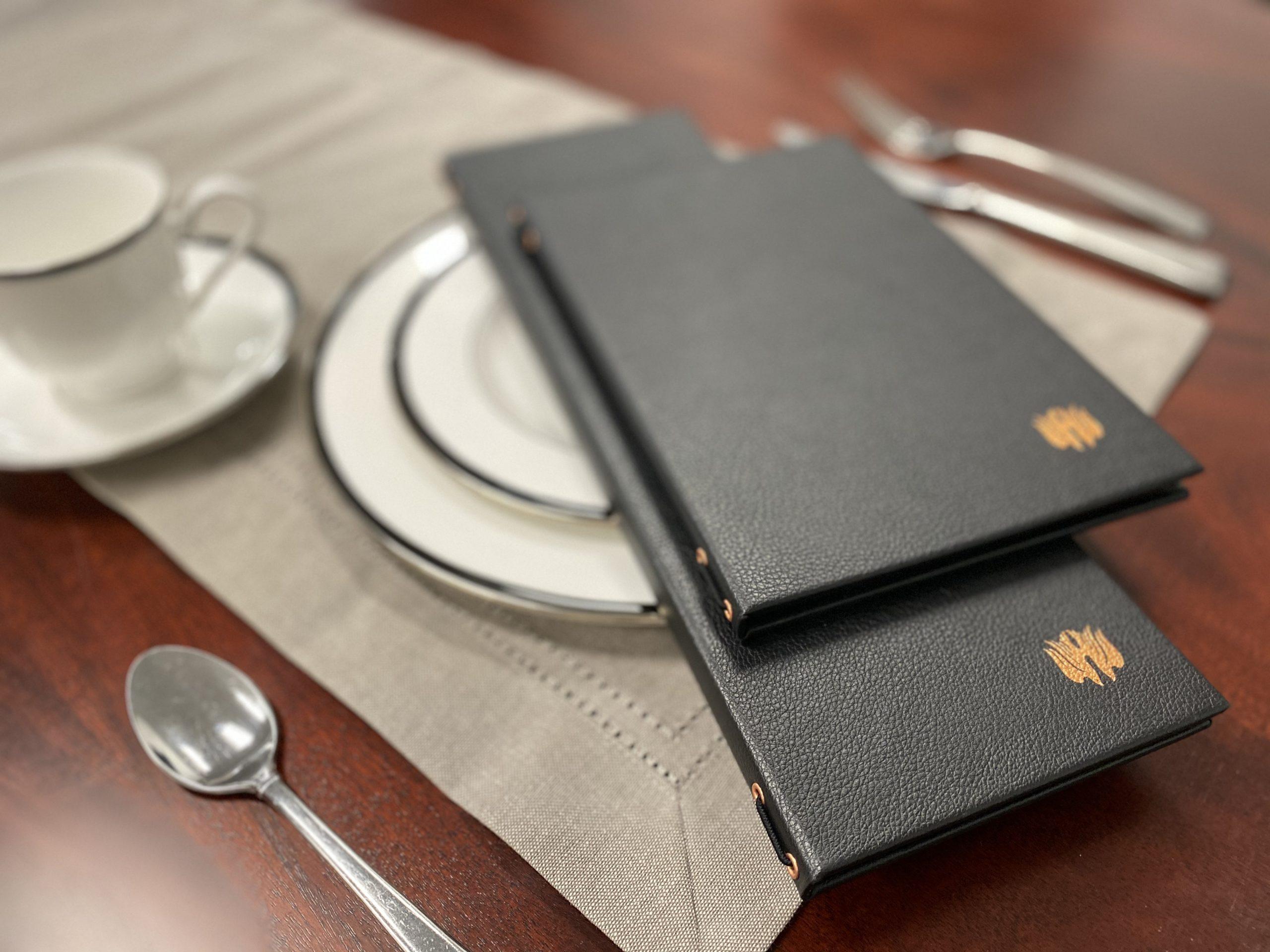 Restaurant menu covers & accessories