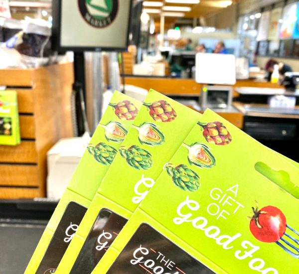 Gift card for the grocery store