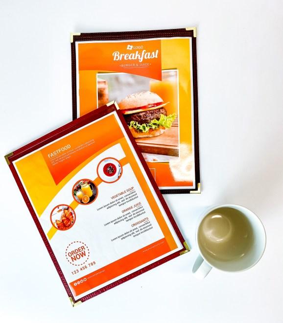 Stitch menu sleeves menu design