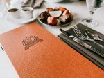 Indian restaurant menu cover
