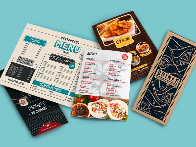 Add menu design