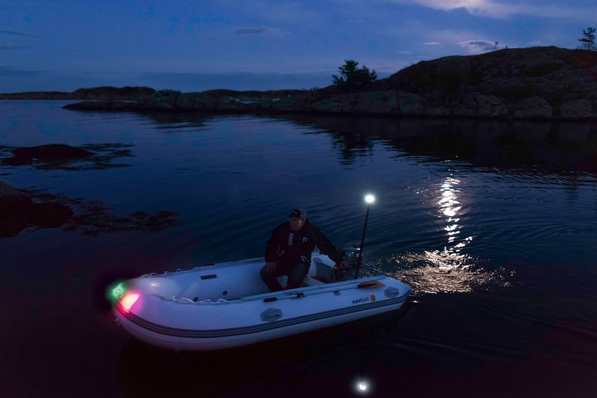 Navilight Pack For Rib Or Inflatable Tender Navi Light