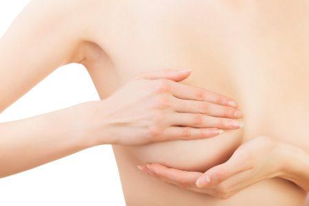 asymmetrische Brust