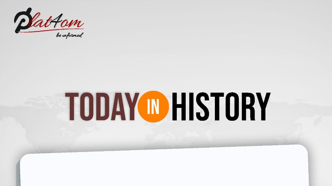 24th April: Find Out What Happened On This Day In History
