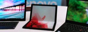 Lenovo Reveals First Foldable Laptop
