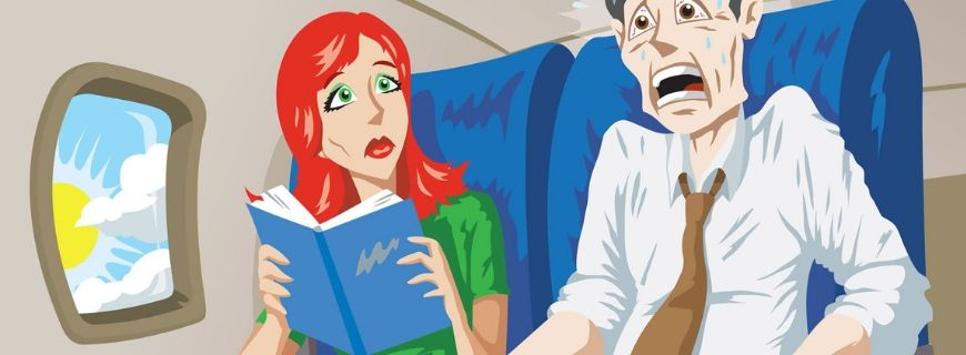 Aviophobia, the fear of flying