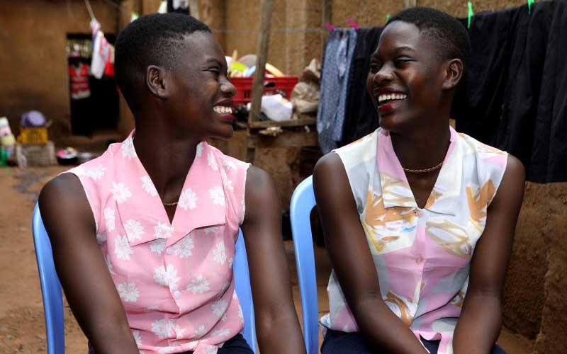 kenyan twins reunite
