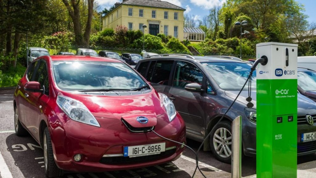 Ireland Electric Cars not using diesel