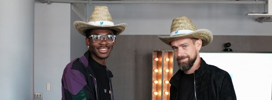 Lil Nas X and Jack Dorsey