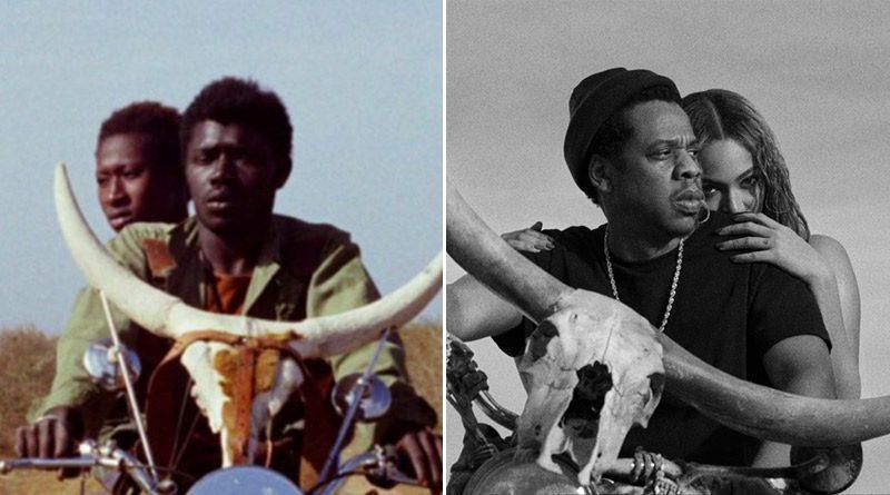Beyonce Jay Z OTR2 Touki Bouki imitation