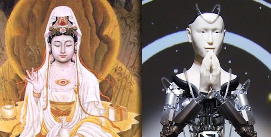 Buddhist Robot Priest