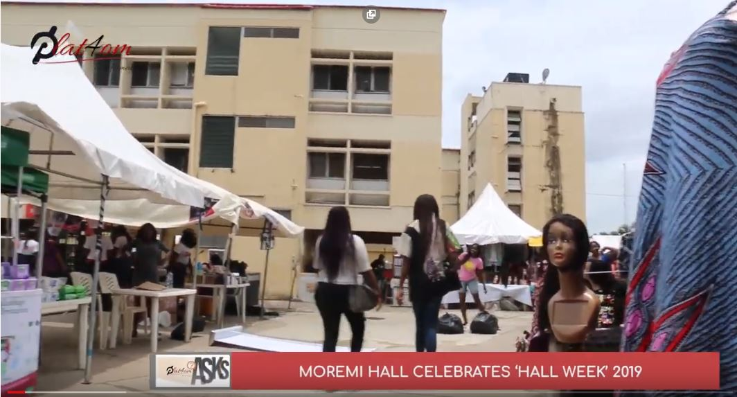 Watch: Plat4om Covers Moremi Hall Week 2019 In Unilag