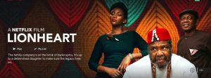 """Genevieve Nnaji's """"Lionheart"""" Submitted For 2020 Oscars"""