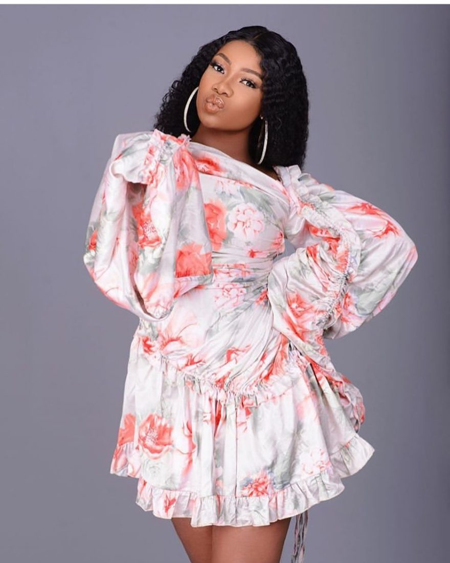 Tacha gives reason why she deactivated her Instagram account