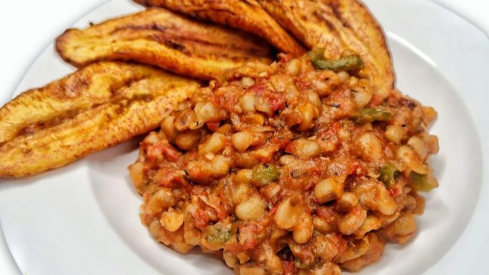 ₦1000 Nigerian Meals beans and plantain