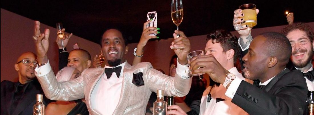See Pictures From Diddy's 50th Birthday, As Kanye and Jay Z Reunite