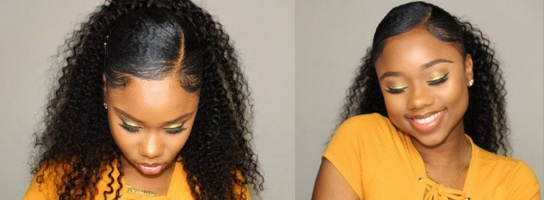 Stay Classy In January- Here's How To Make A Ponytail All By Yourself