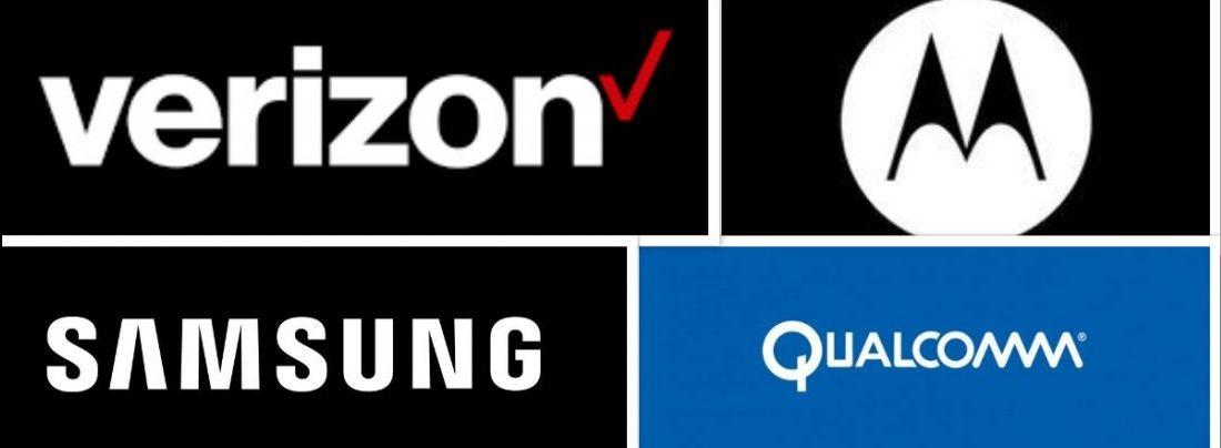Verizon, Samsung, Motorolla Qualcomm 5G