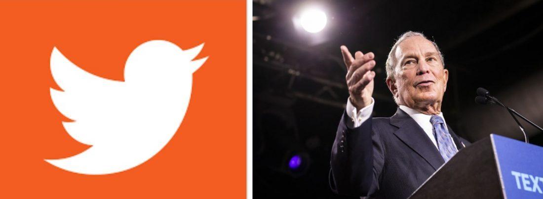 Twitter Bloomberg accounts