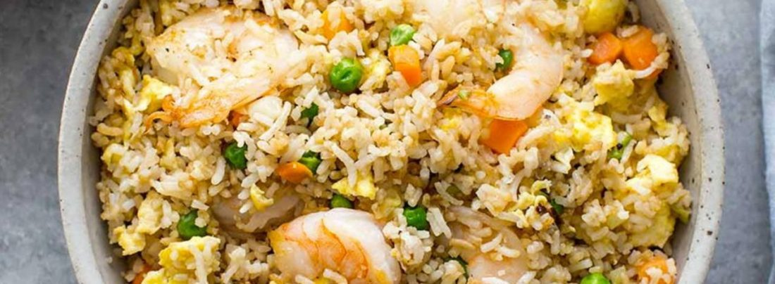 Why Not Prepare Shrimp Fried Rice This Weekend? Learn The Process Here