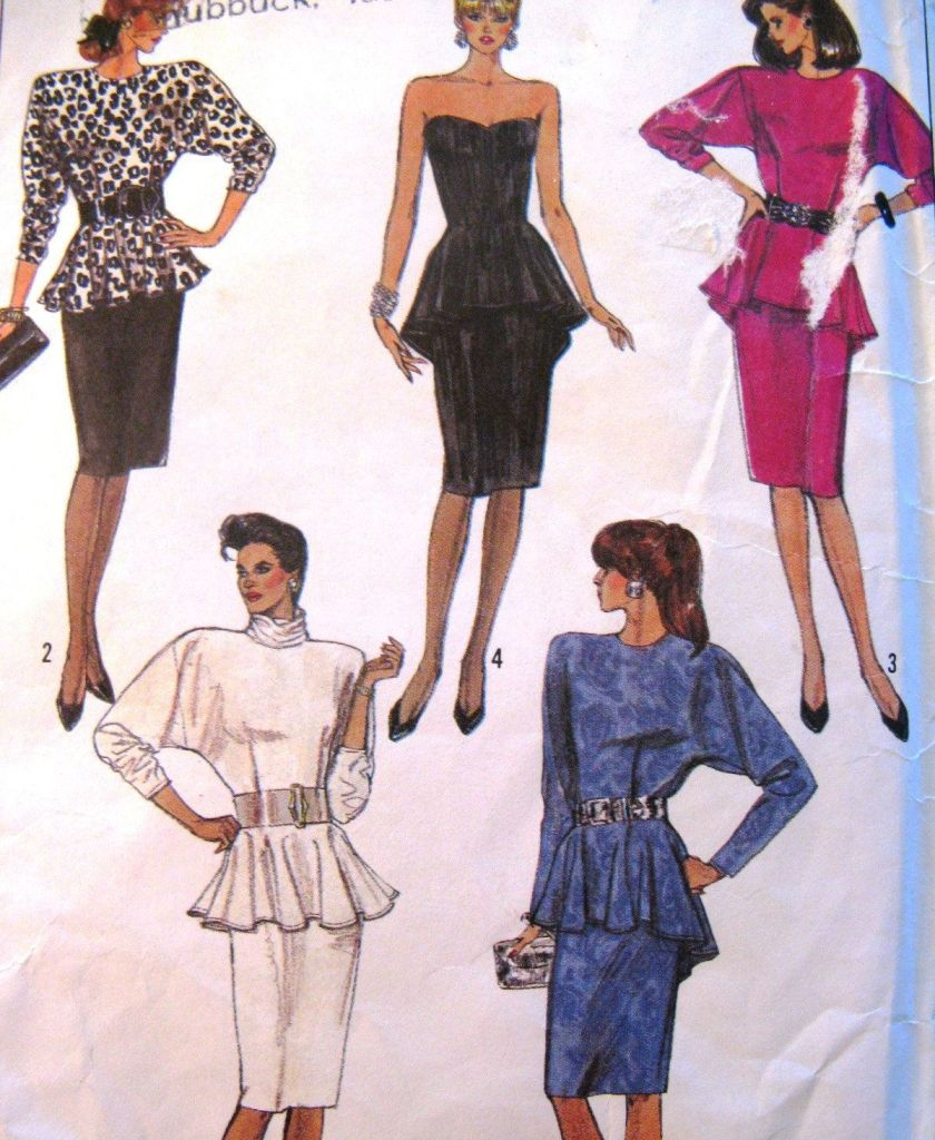 History Of Peplum Style And How It Has Evolved Over The Years
