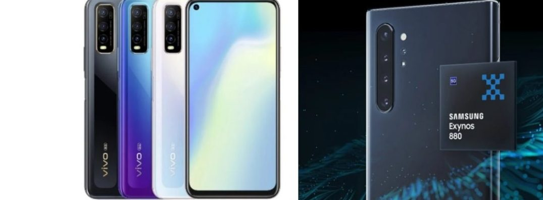 Vivo Announces That Y70s Will First Use Samsung's Exynos 880 SoC