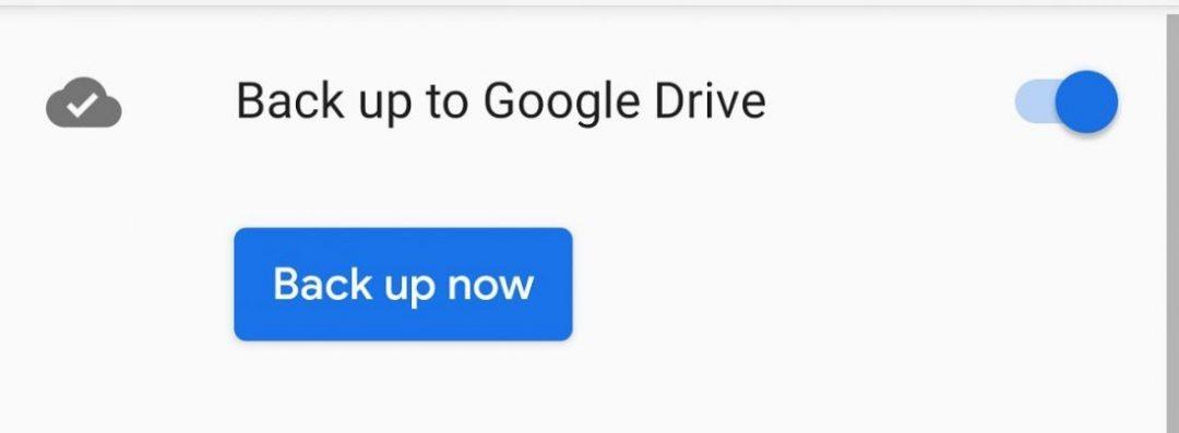 Google Backup