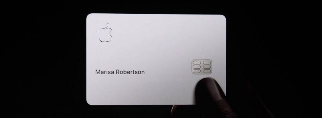 Apple Cards web portal