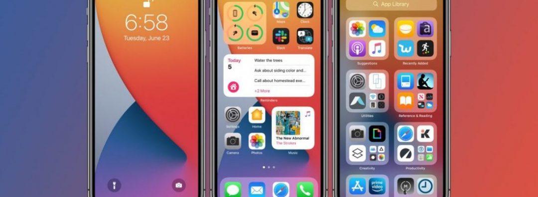 iOS 14 public beta testing