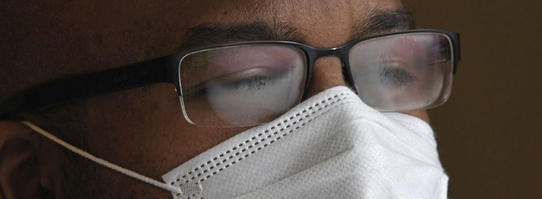 Glasses Always Fogging Up When You Wear A Face Mask? Here's How To Fix It