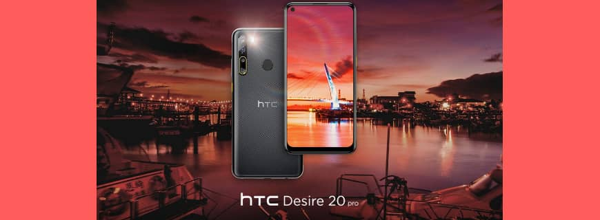 See Specifications And Price Of New HTC Desire 20 Pro Launched In Europe