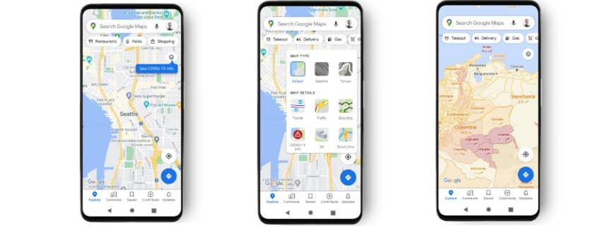 Google Maps Is Getting New COVID Data To Improve Navigation