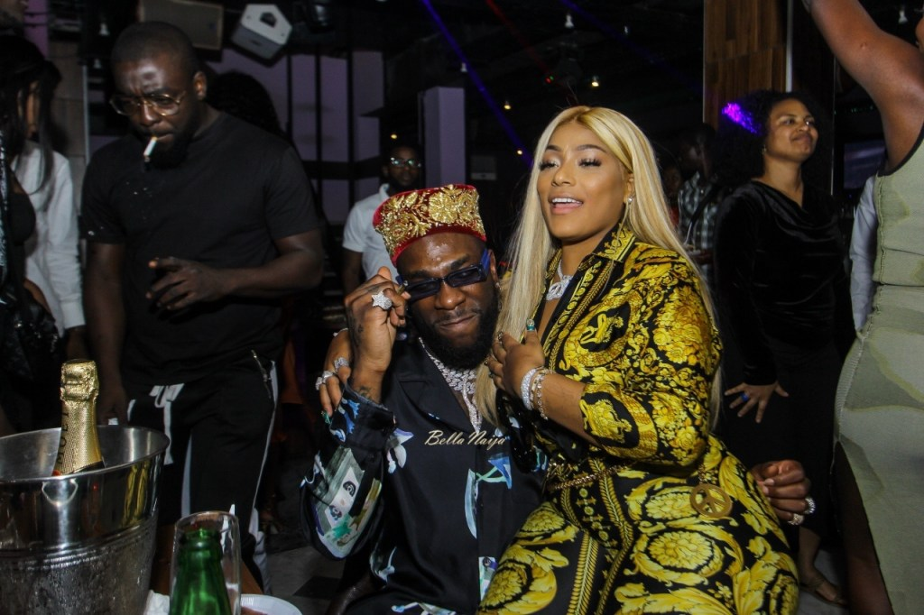 Burna Boy Calls Stefflon Don His Wife As He Flaunts His Necklace Gift